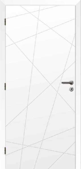 Biele interiérové dvere POLAR 9